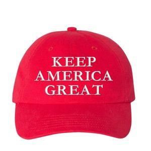 Keep America Great! Trump Dad Hat
